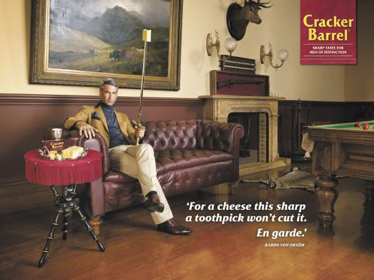 Cracker Barrel Print Ad -  Sword