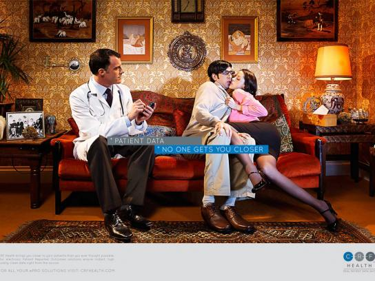 CRF Health Print Ad -  Patient, 1