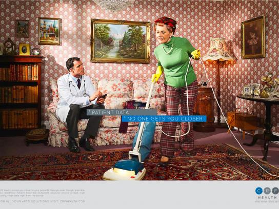 CRF Health Print Ad -  Patient, 4