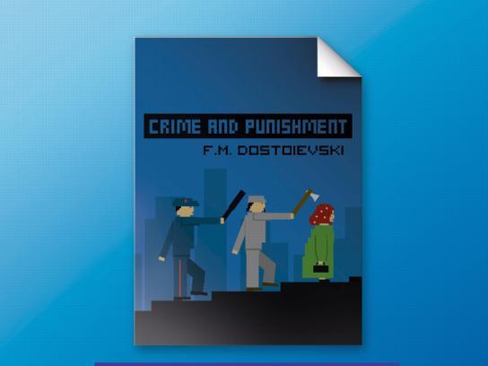 Dacia Print Ad -  Crime and Punishment