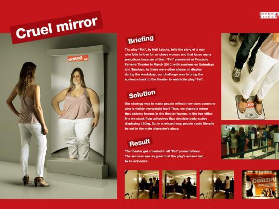 Procopio Ferreira Ambient Ad -  Cruel Mirror