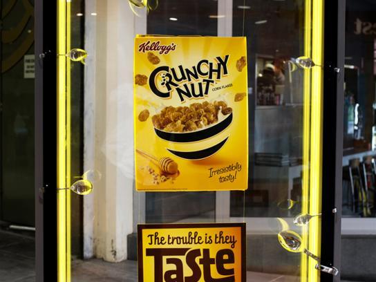 Crunchy Nut Outdoor Ad -  Break in