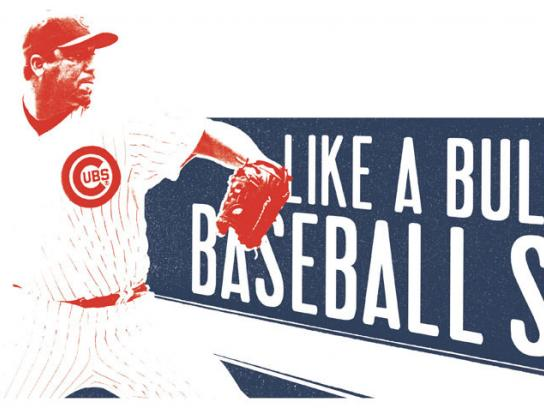 The Chicago Cubs Print Ad -  Baseball shop