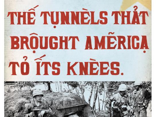Cu Chi Museum Print Ad -  Tunnels