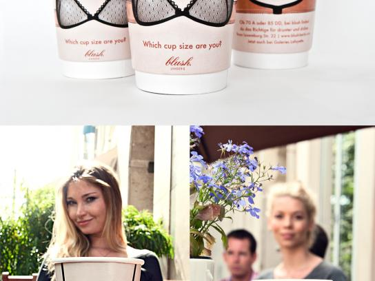 Blush Direct Ad -  Which cup size are you?