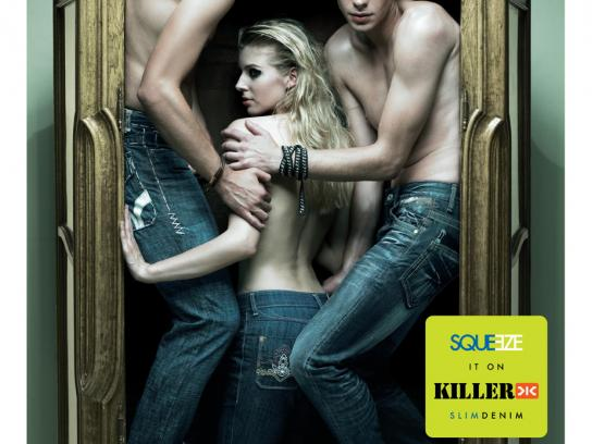 Killer Jeans Print Ad -  Cupboard