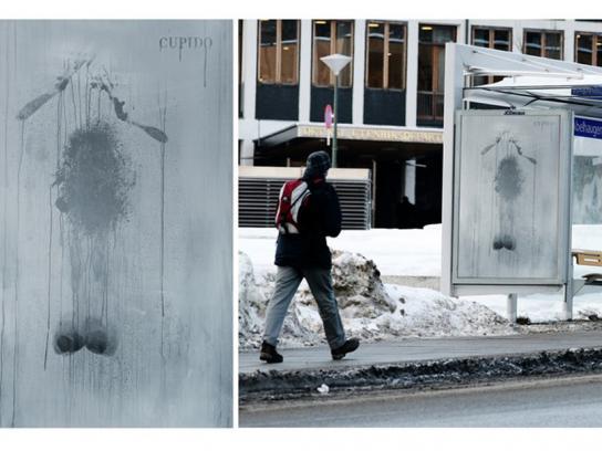 Cupido Outdoor Ad -  Steamy Winter, 1
