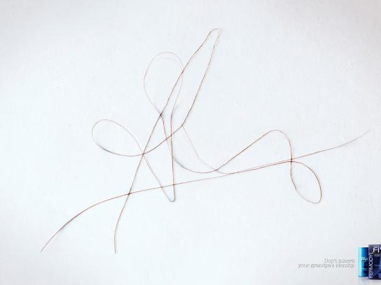 Fermofive Print Ad -  Curly Signature