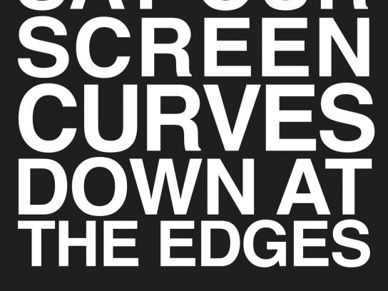 IMAX Print Ad -  Curve