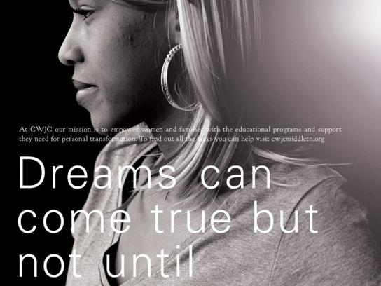 Christian Women's Job Corp Print Ad -  Dreams
