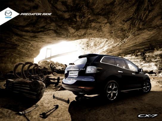 Mazda Print Ad -  Predator Ride, 1