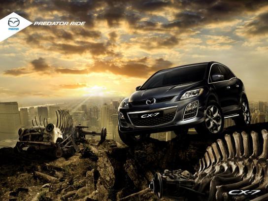 Mazda Print Ad -  Predator Ride, 2