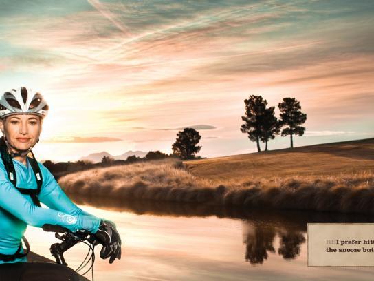 REI Print Ad -  Cyclist