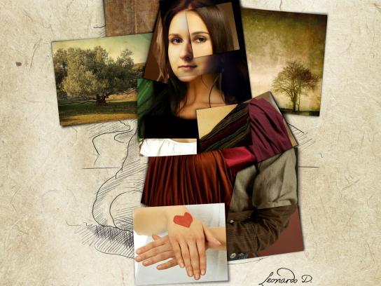 Shutterstock Print Ad -  Da Vinci