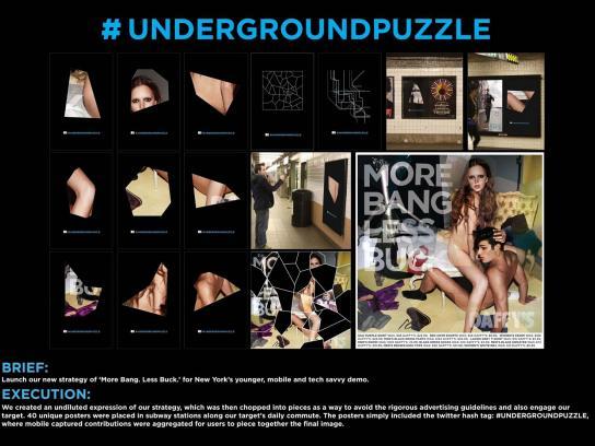 Daffy's Ambient Ad -  Underground Puzzle
