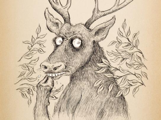 Daihatsu Print Ad -  Deer