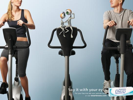 Ciba Print Ad -  Gym