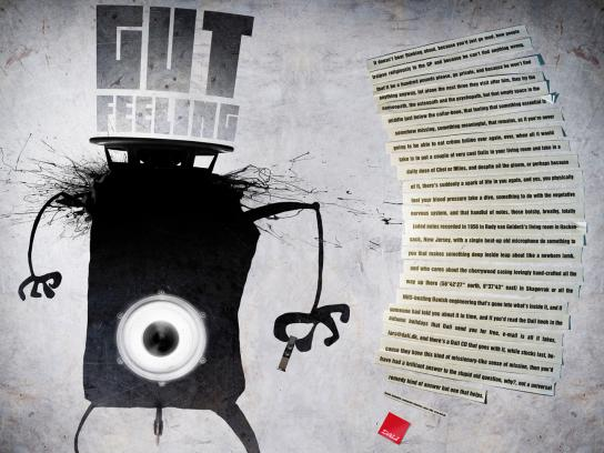 Dali Print Ad -  Gut feeling