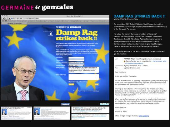 Germaine Digital Ad -  Damp Rag strikes back