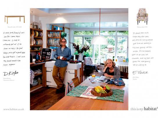 Habitat Print Ad -  Dan & Ellie