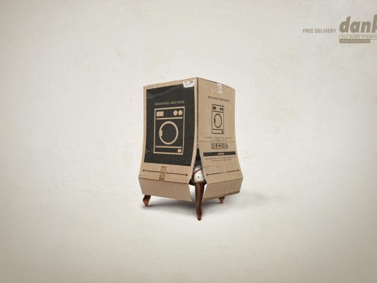 Dank! Print Ad -  Chair