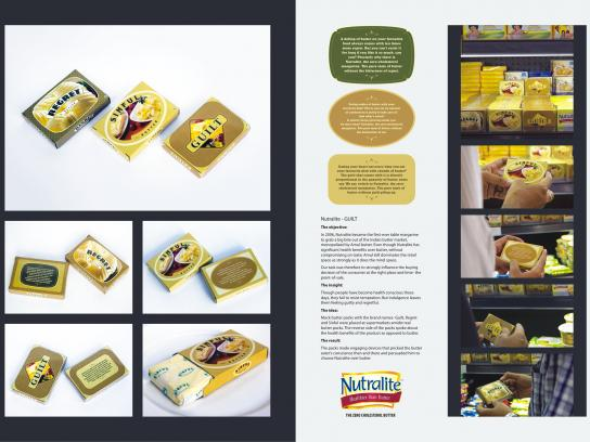 Nutralite Ambient Ad -  Mock butter packs