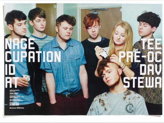 David Stewart Print Ad -  Teenage Pre-occupation, 2