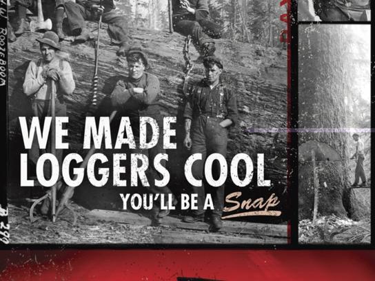 Dayton Boots Print Ad -  Coolsnap