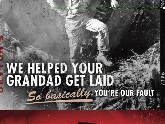 Dayton Boots Print Ad -  Grandad
