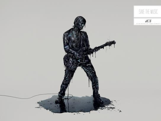 DCS Print Ad -  Save the music, Guitar