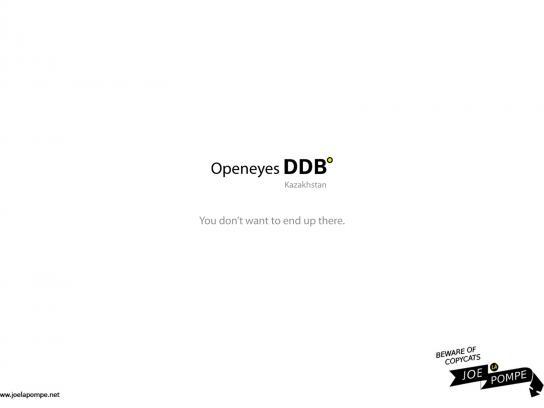 Joelapompe.net Print Ad -  DDB