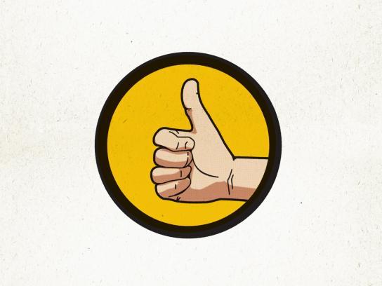 DDB Print Ad -  Thumbs