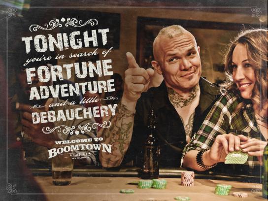 Boomtown Casino Print Ad -  Debauchery