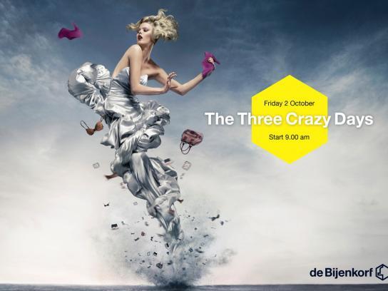 De Bijenkorf Print Ad -  Tornado, 3