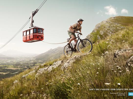 Decathlon Print Ad -  Mountain