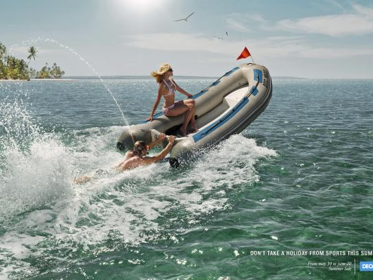 Decathlon Print Ad -  Sea