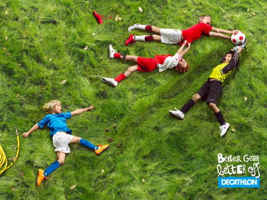 Decathlon Print Ad -  Better gear, 1