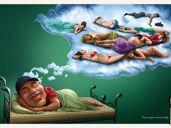 Shivam Handloom Print Ad -  Tiger