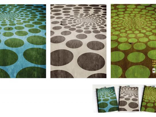 Delfin X-Ray & Imaging Clinic Print Ad -  Circles