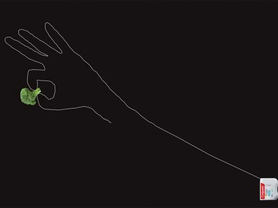 Colgate Print Ad -  Broccoli