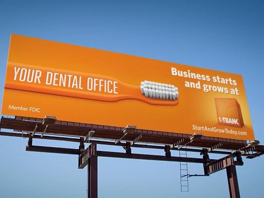 FirstBank Outdoor Ad -  Dentist