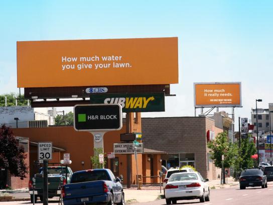 Denver Water Outdoor Ad -  Tandem