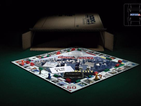 Deprisa Print Ad -  Monopoly