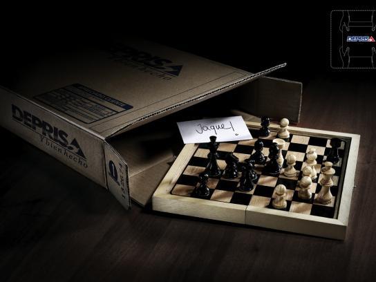 Deprisa Print Ad -  Chess