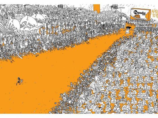 Dequadin Print Ad -  Carnival
