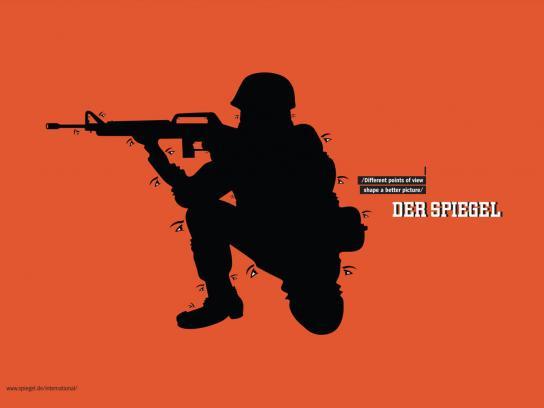Der Spiegel Print Ad -  Soldier