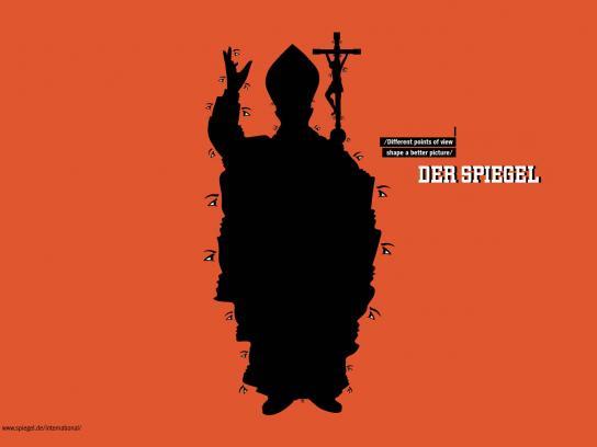 Der Spiegel Print Ad -  Pope
