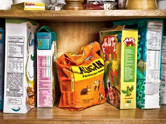 Alican Print Ad -  Family treat, Pantry