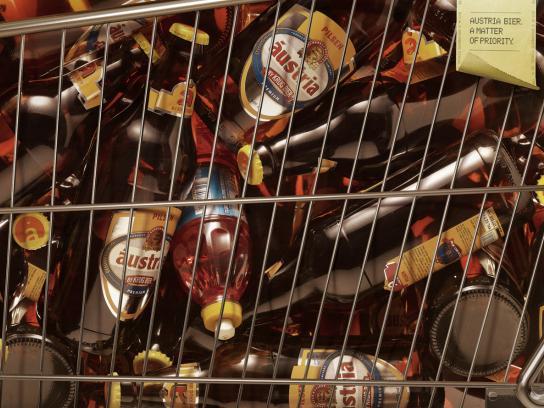 Austria Bier Print Ad -  Detergent