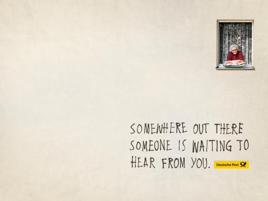 Deutsche Post Print Ad -  Message